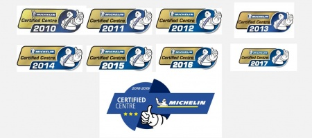 10 jaar Michelin Certified Centre