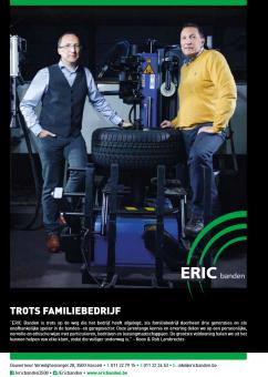 ERIC Banden= trots familiebedrijf!