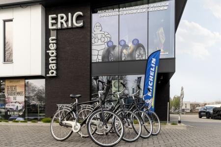 Leen eens een fiets van ERIC Banden