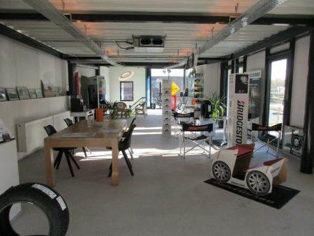 100 m² VIP-klantenruimte