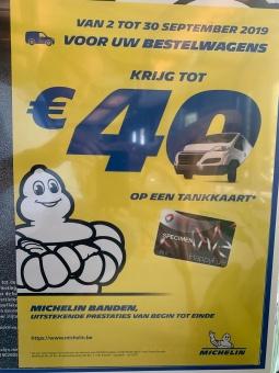ACTIE Michelin Bestelwagenbanden